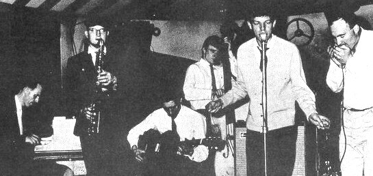 Blues Incorporated @ the  Ealing Club. 1962