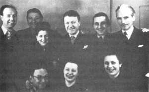 ITMA:  the wartime cast